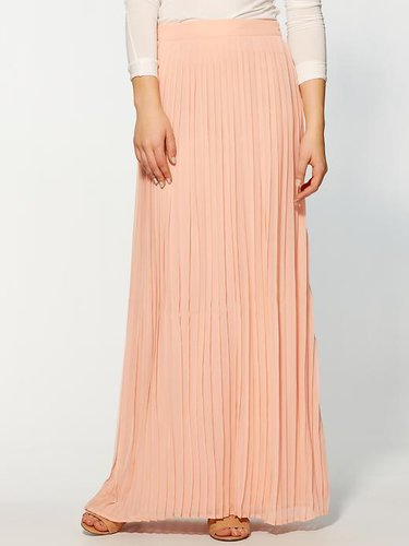 Sabine Pleated Maxi Skirt