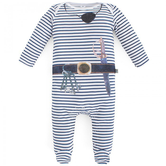 Stella McCartney Kids Pirate-Print Babygrow