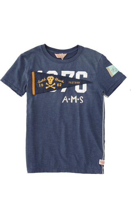 Scotch Shrunk Pirate Flag Shirt