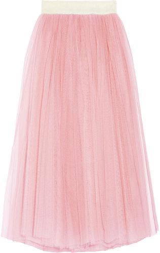 D&G Tulle maxi skirt
