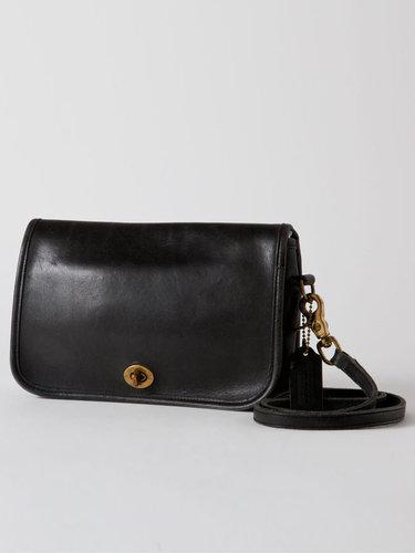 Vintage Coach Small Leather Flap Purse