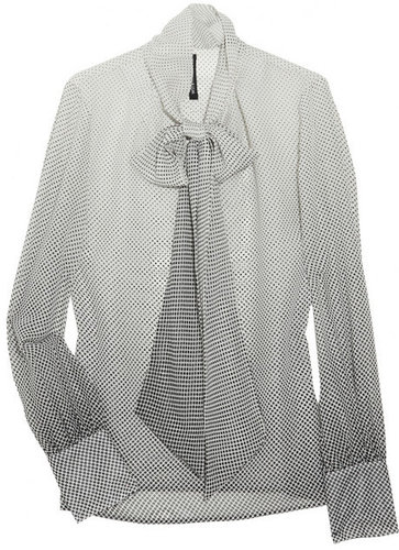 W118 by Walter Baker Polka-dot chiffon blouse