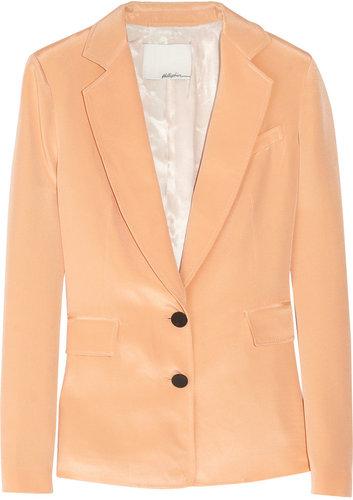 3.1 Phillip Lim Silk satin-crepe blazer