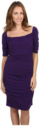 Calvin Klein - Short Sleeve Ruched Dress