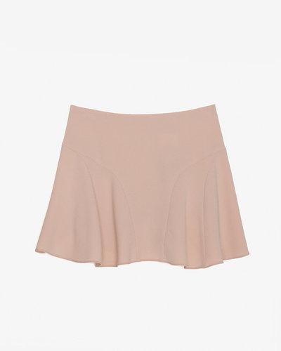 Joseph Flounce Skirt: Blush