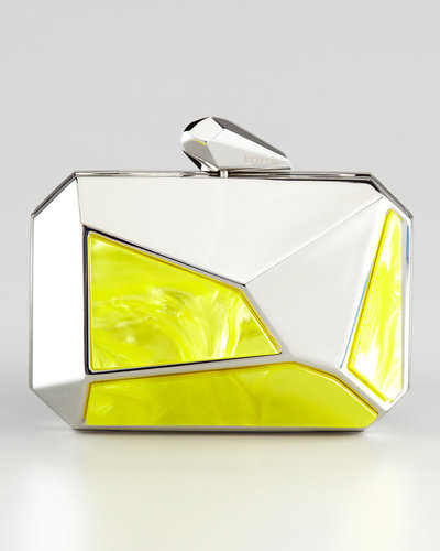 Kotur Pearce Clutch Bag, Yellow