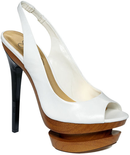 Jessica Simpson Shoes, Cinna Peep Toe Platform Pumps