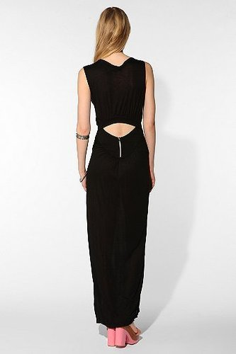 Shakuhachi Open Back Maxi Dress
