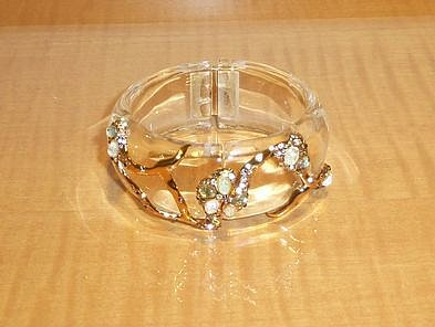Alexis Bittar Large Modernist Embraced Cuff