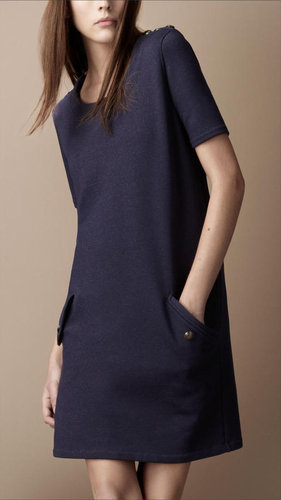 Cotton Blend T-Shirt Dress