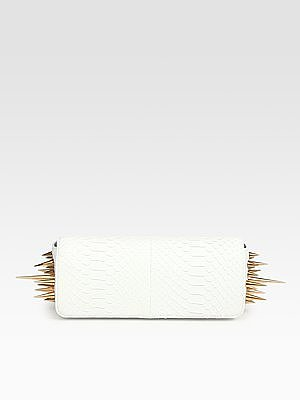 Christian Louboutin Marquise Python Clutch