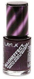 Layla Magneffect Magnetic Effect Nail Polish, Purple Galaxy