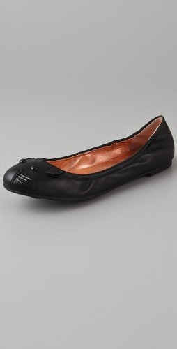 Marc By Marc Jacobs Elastic Mouse Flats