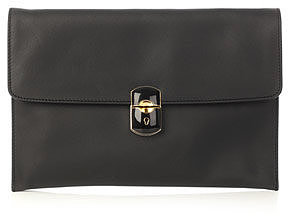 Balenciaga Padlock evening clutch bag