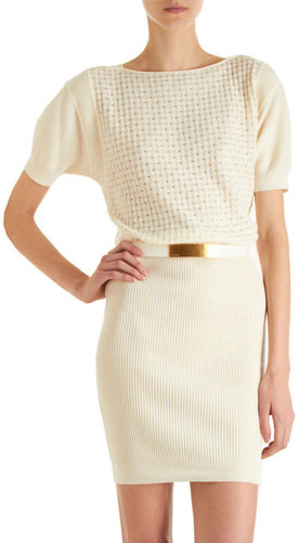 Fendi Waffle Dress