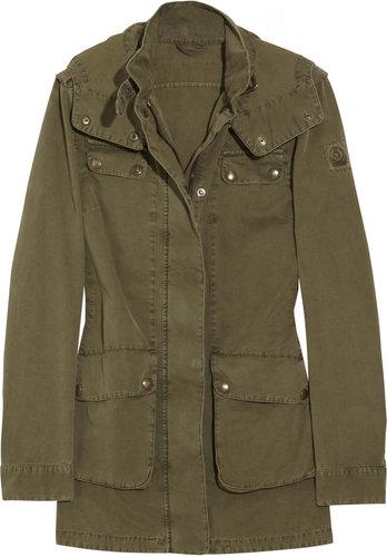 Belstaff Prescot hooded cotton-twill parka