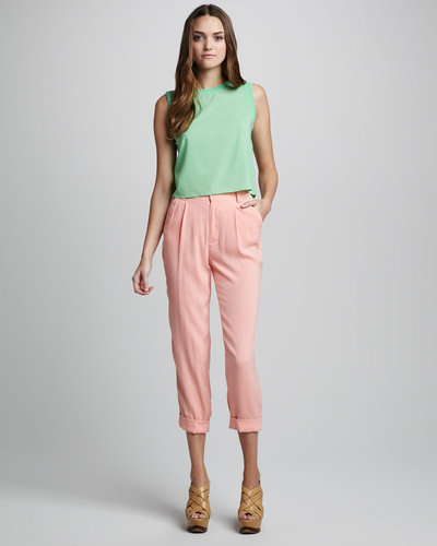 Alice + Olivia Arthur Tapered Pants