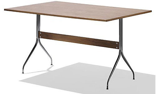 NelsonTM Swag Leg Rectangular Work Table