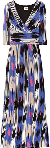 ALICE by Temperley Mexican printed jersey maxi dress