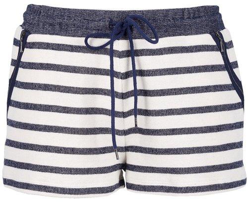 Victoria Beckham Denim stripe short
