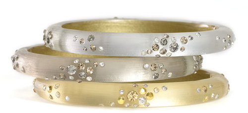 Alexis Bittar 'Dust' Small Hinged Bracelet (Nordstrom Exclusive)