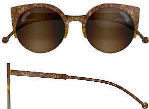 Super Sunglasses Lucia Brown Stone