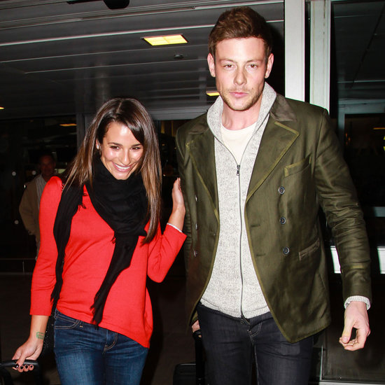 Lea Michele and Cory Monteith Together in NYC