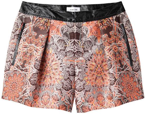 Helmut Lang / Medallion Jacquard Shorts