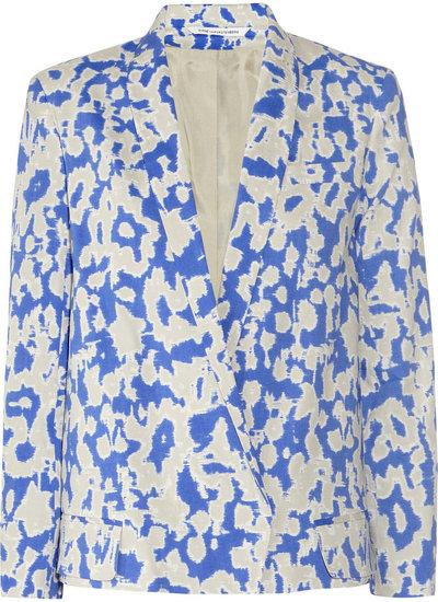 Diane von Furstenberg Zaid ikat-print stretch-crepe jacket