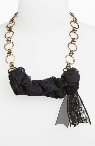 Bonnie Jonas 'Lace & Chain' Necklace