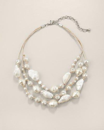 Pearlita Multi-Strand Necklace