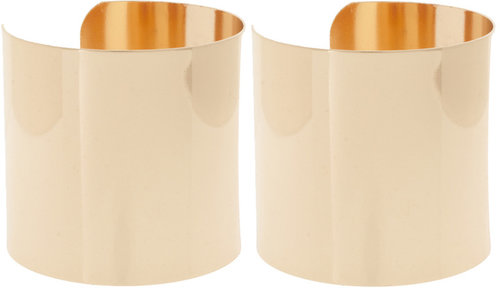 ASOS Pack of Two Smooth Double Cuffs