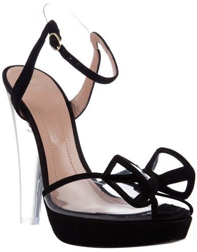 Sonia Rykiel Satin heels with bow