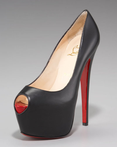 Christian Louboutin Highness Platform Pump, Black
