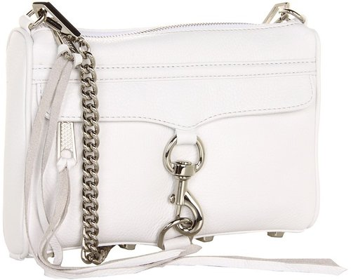 Rebecca Minkoff - Mini M.A.C. (White) - Bags and Luggage