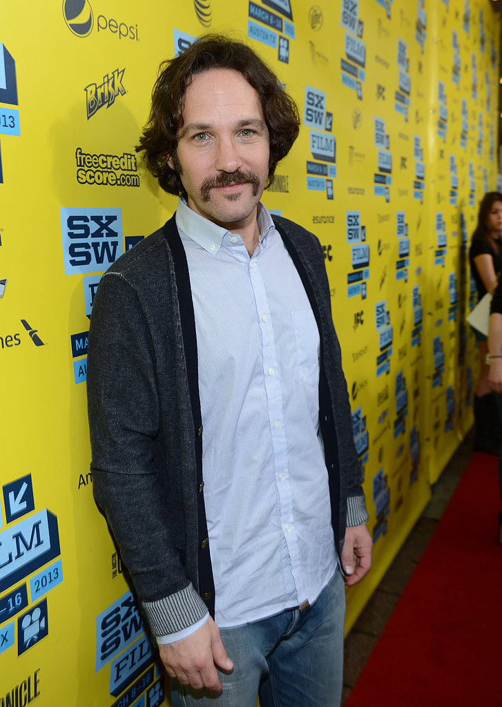 Paul Rudd hit the red carpet for his Prince Avalanche premiere at SXSW.