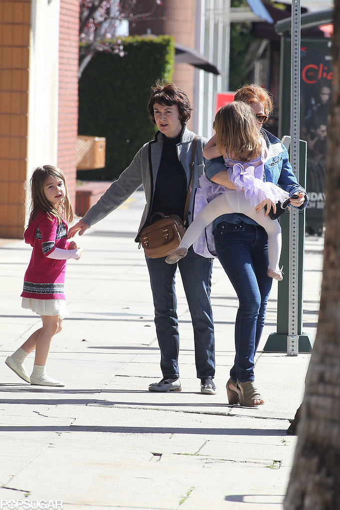 Isla Fisher Has a Girls' Day With Her Little Ones in LA