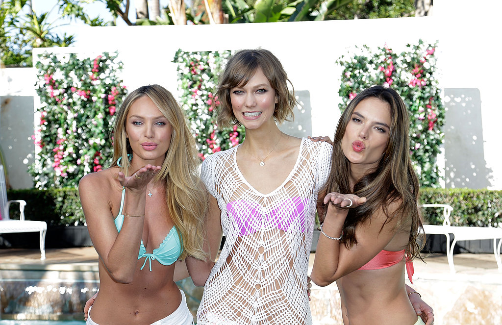 Sexy Angels Slip Into Bikinis to Debut VS's New Swim Line