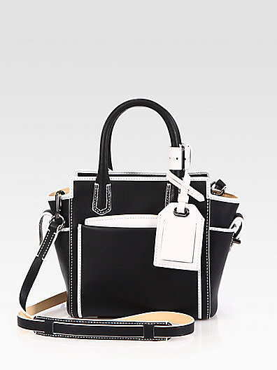 Reed Krakoff Atlantique Micro Two-Tone Satchel