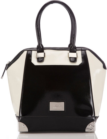 Black And White Juno Tote Bag