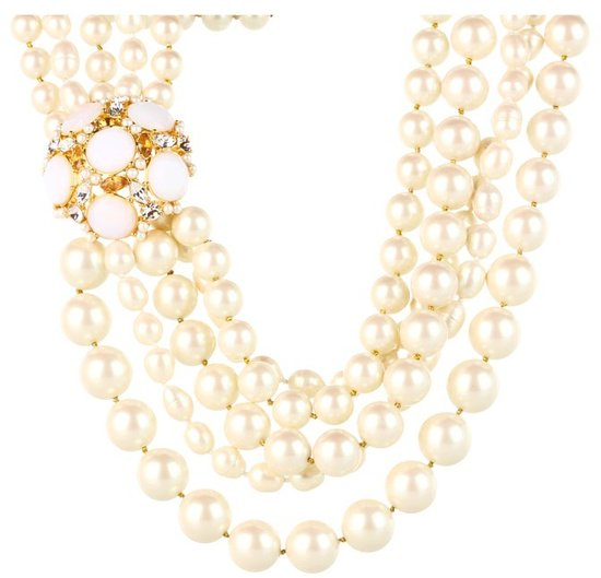 Kate Spade New York - Belle Fleur - Bridal Necklace (Neutral Multi) - Jewelry