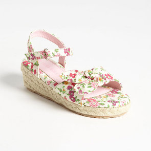 Flowered Shoes For Little Girls Spring 2013