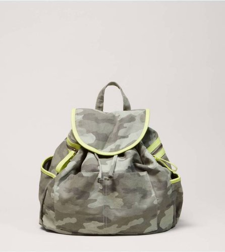AEO Printed Canvas Backpack