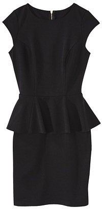 Mossimo® Women's Peplum Dress -Black