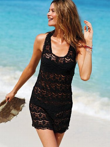 Beach Sexy Lace Cover-up