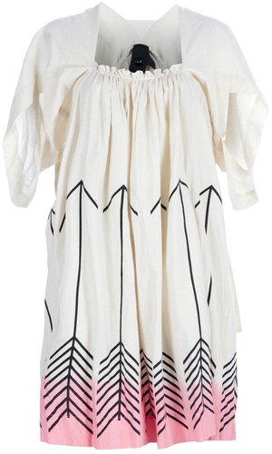 Bernhard Willhelm arrow print dress
