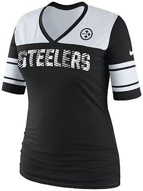 Nike Touchdown NFL Pittsburgh Steelers Women's Top