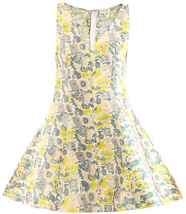 """[a href=""""/womens/opening-ceremony""""]Opening Ceremony[/a]              Floral jacquard dress"""