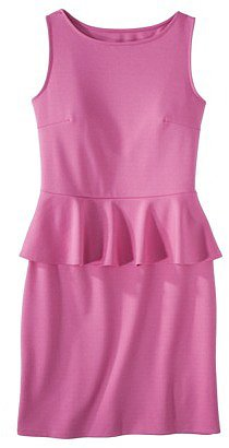 Mossimo® Petites Ponte Peplum Sleeveless Dress - Assorted Colors