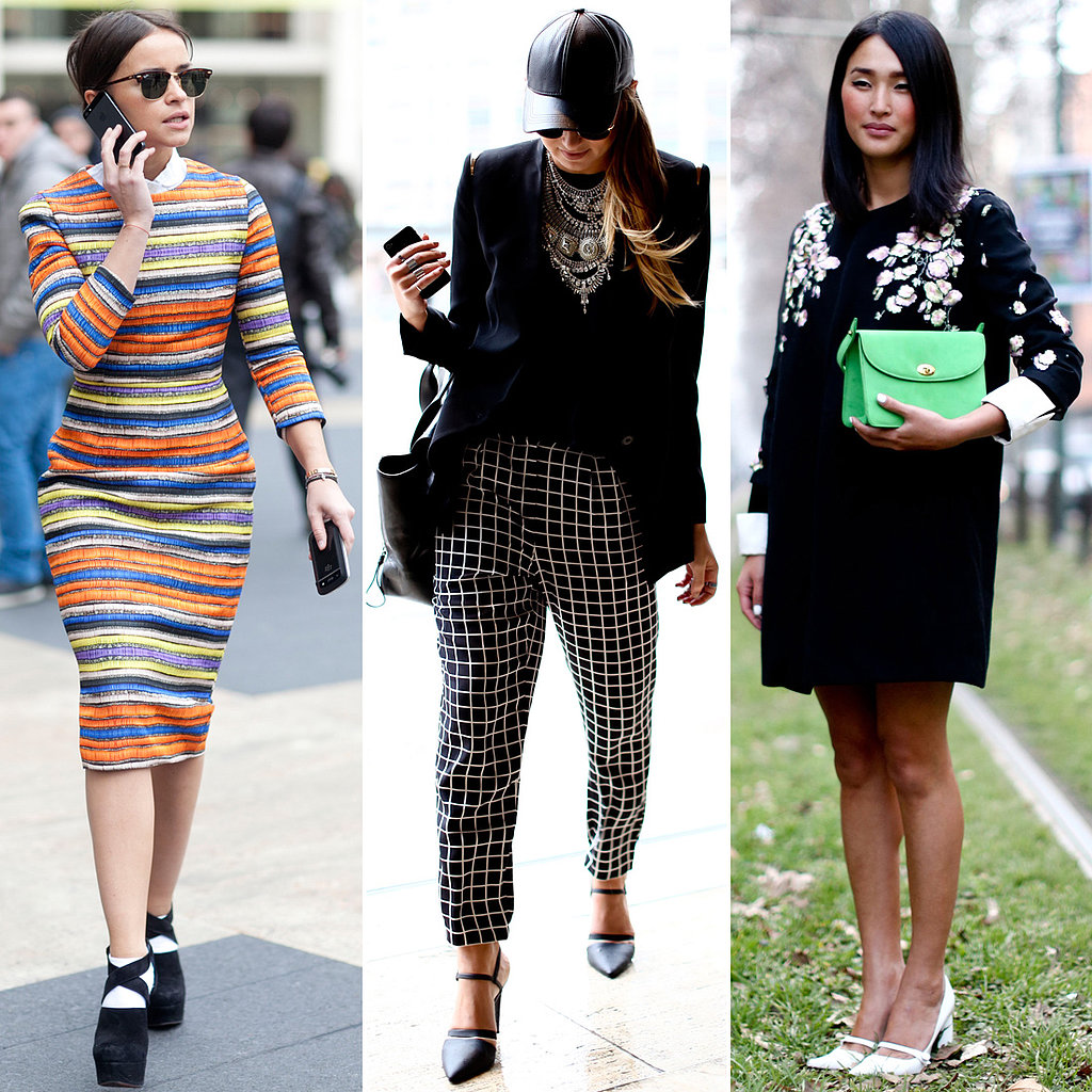 Street Style Trends At Fashion Week Fall 2013 Popsugar Fashion